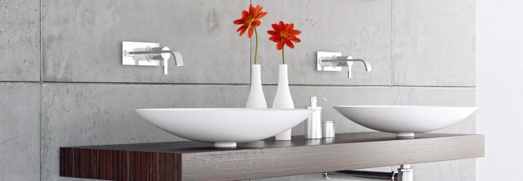 Hier haben wir einen tollen Tisch inkl. tollen Waschbecken.